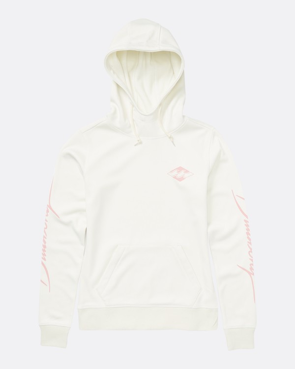 0 Women's Outside Fever Hoodie White JSN6QOUH Billabong