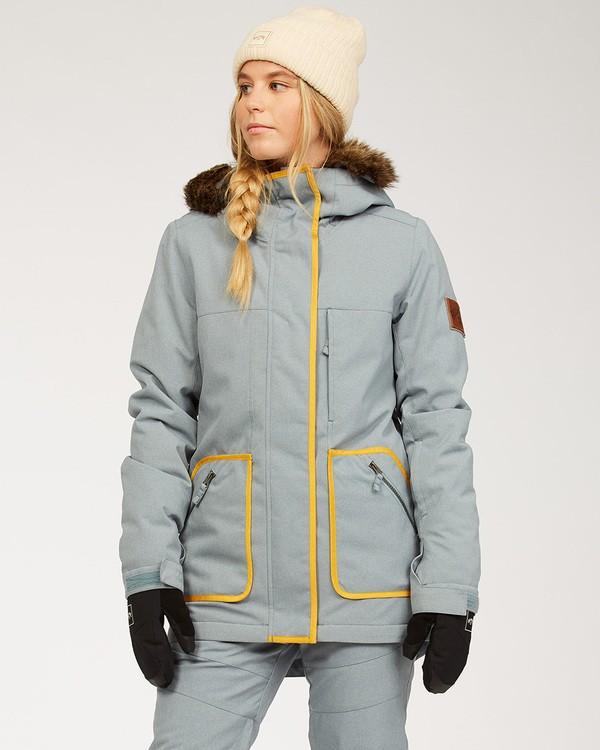 0 Women's Into The Forest Snow Jacket Multicolor JSNJ3BIN Billabong