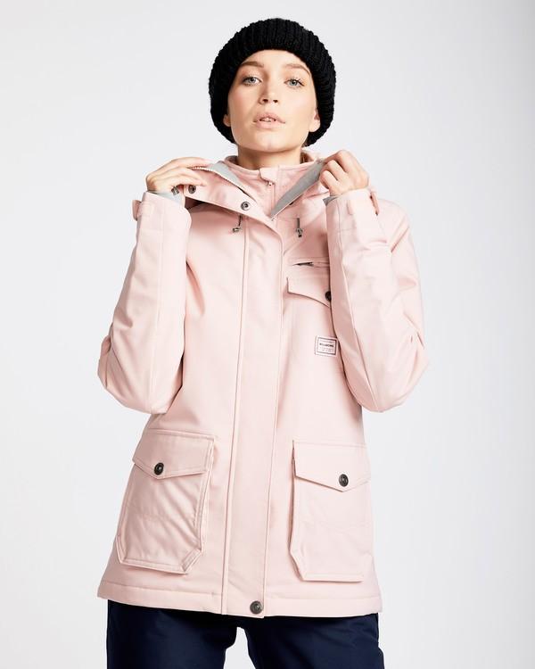 0 Women's Elodie Outerwear Jacket Pink JSNJQELO Billabong