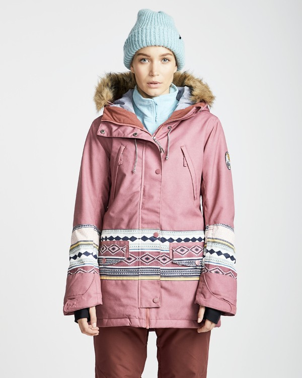 0 Women's Nora Snow Jacket Multicolor JSNJQNOR Billabong