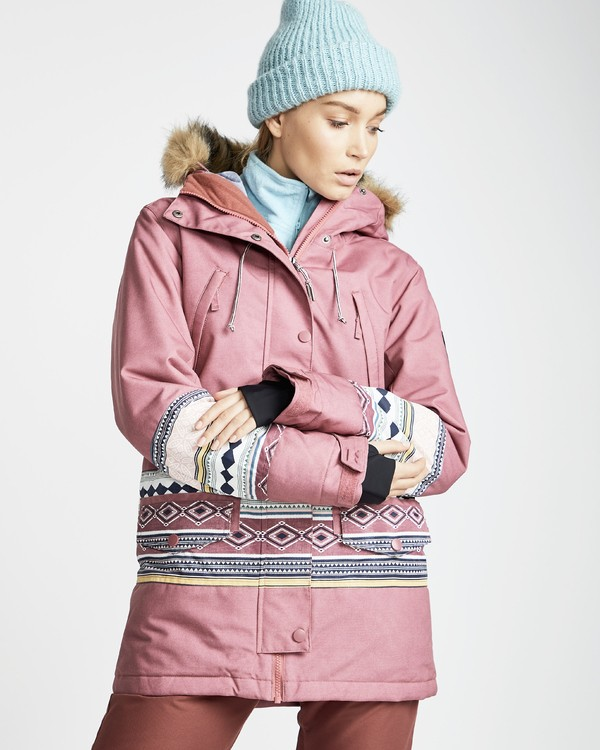0 Women's Nora Snow Jacket Red JSNJQNOR Billabong