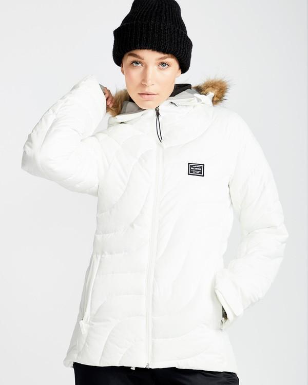 0 Women's Soffya Outerwear Jacket White JSNJQSOF Billabong