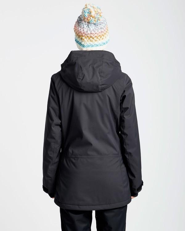 0 Women's Sula Solid Outerwear Jacket Black JSNJQSUL Billabong
