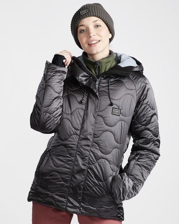 0 Women's Bliss Snow Jacket Grey JSNJVBBL Billabong