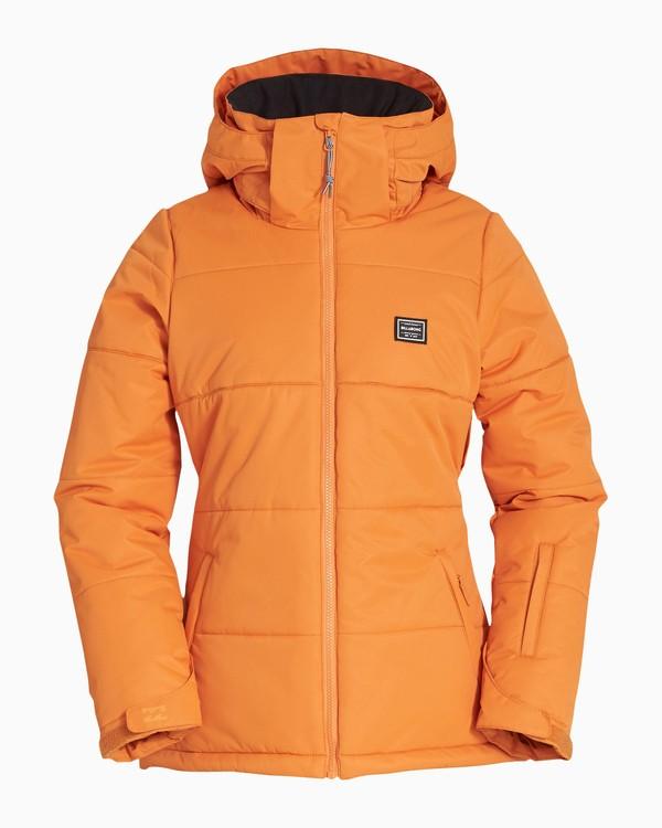 0 Women's Down Rider Snow Jacket Orange JSNJVBDR Billabong