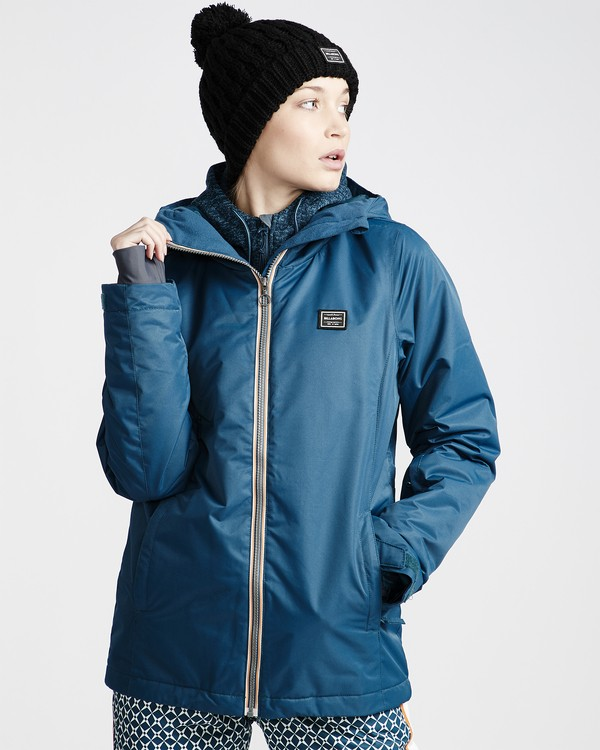 0 Women's Sula Snow Jacket Blue JSNJVBSU Billabong