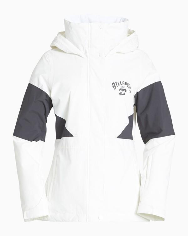 0 Women's Say What Snow Jacket White JSNJVBSW Billabong
