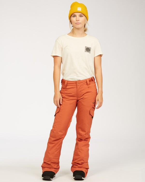 0 A/DIV Women's Nela Snow Pants Red JSNP3BNE Billabong