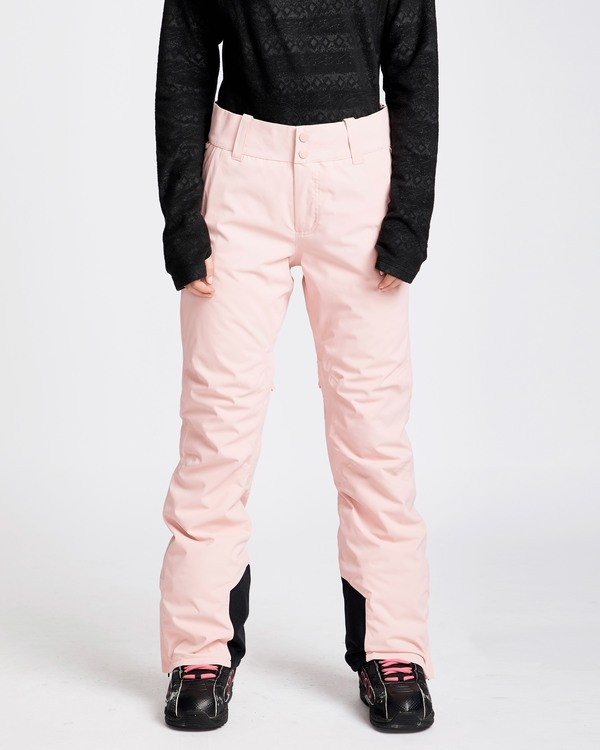 0 Women's Gaia Snow Pants Pink JSNPQGAI Billabong