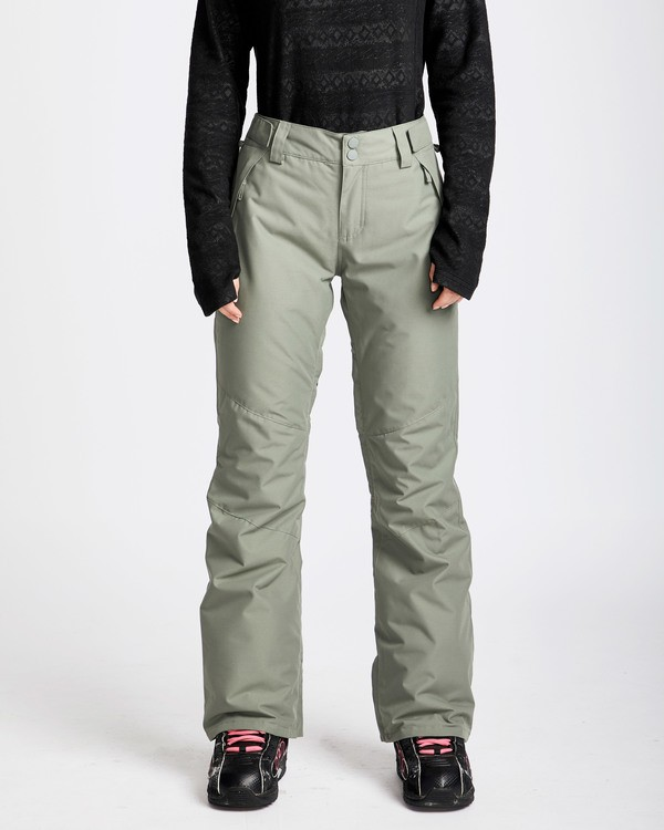 0 Women's Malla Outerwear Pants Green JSNPQMAL Billabong
