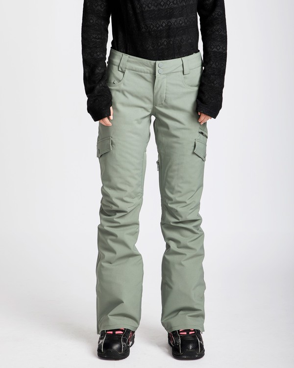 0 Women's Nela Slim Fit Outerwear Pants Green JSNPQNEL Billabong