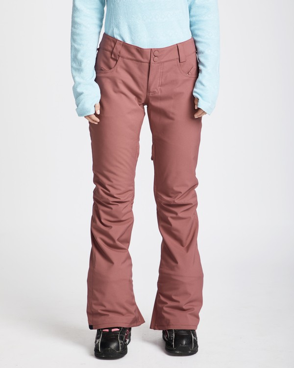 0 Women's Terry Slim Fit Outerwear Pants  JSNPQTER Billabong
