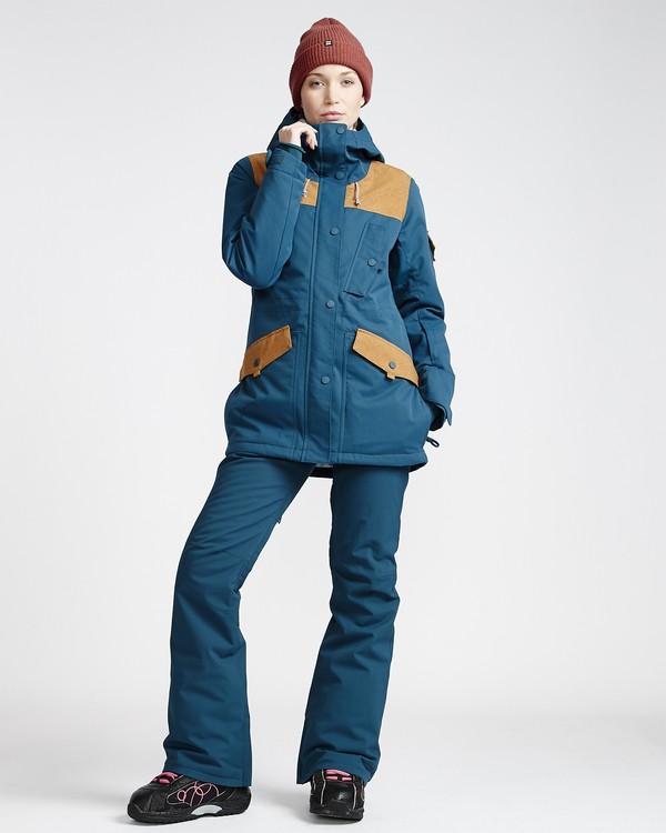 0 Women's Terry Snow Pant Blue JSNPVBTE Billabong