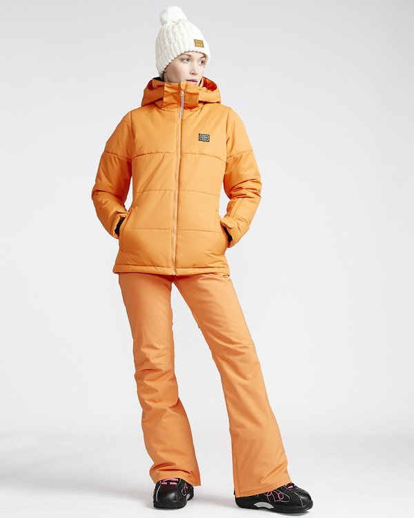 0 Women's Terry Snow Pant Orange JSNPVBTE Billabong