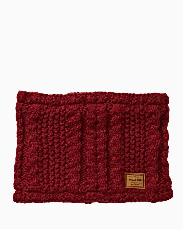 0 Women's Cabin Neckwarmer Red JSNWVBCN Billabong