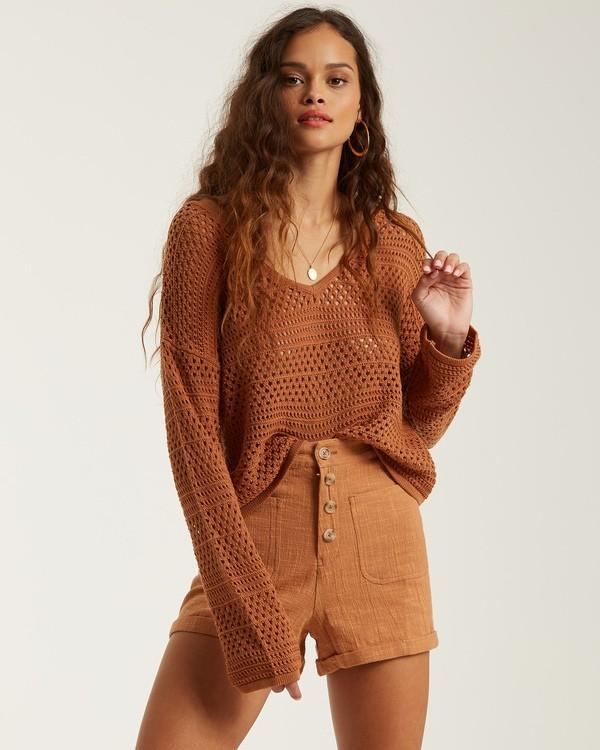 0 Good Times Sweater Brown JV022BGO Billabong