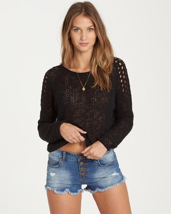 0 Sea Ya Soon Open Knit Sweater  JV06PBSE Billabong