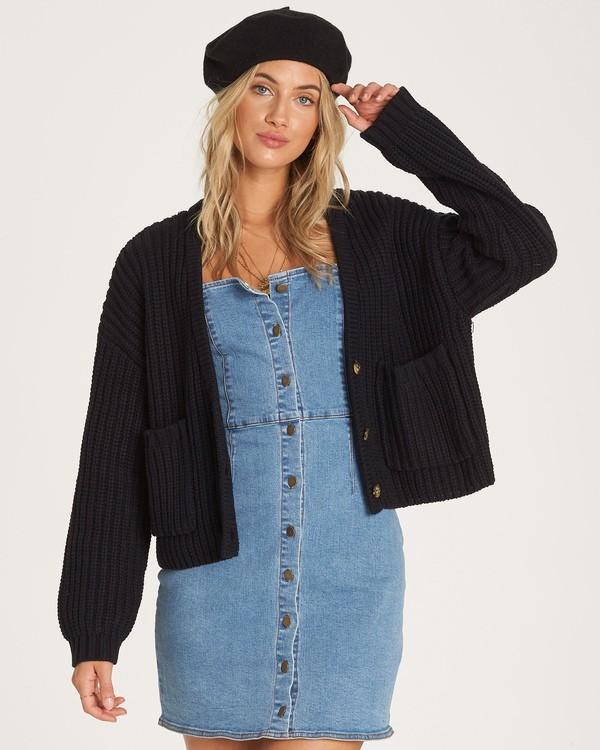 0 Cali Nights Sweater Black JV06WBCA Billabong