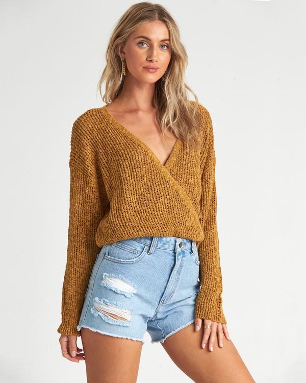 0 Sweet Bliss Sweater Grey JV091BSW Billabong