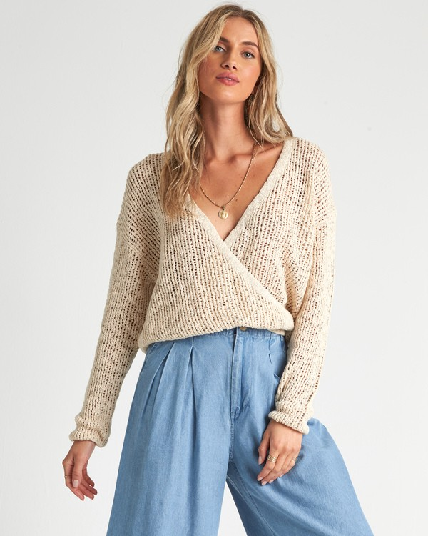 0 Sweet Bliss Sweater White JV091BSW Billabong