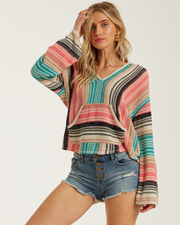 0 Baja Beach Sweater Multicolor JV101BBA Billabong