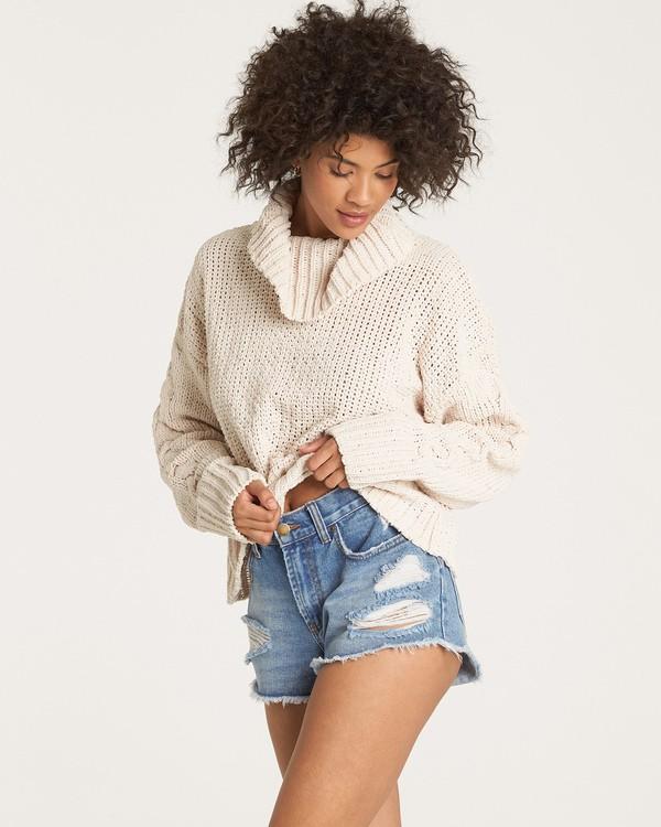 0 Cherry Moon Sweater White JV11WBCH Billabong