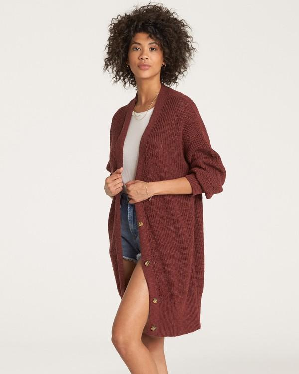 0 Mellow Nights Sweater Purple JV13WBME Billabong