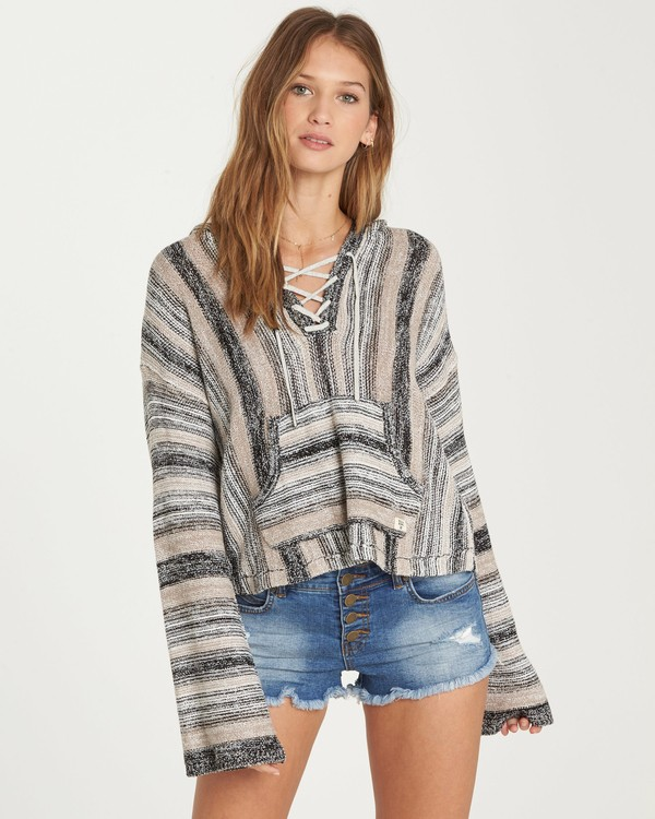 0 Baja Beach Hooded Sweater  JV14QBBA Billabong