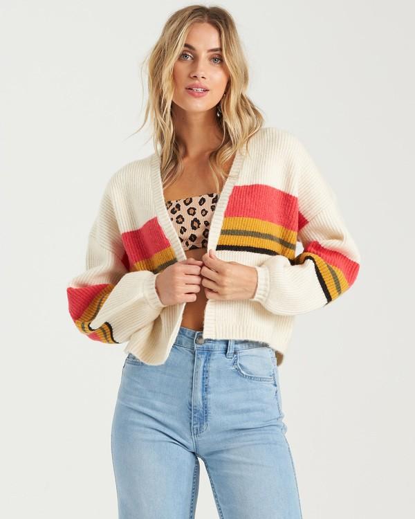 0 Take Me There Sweater White JV163BTA Billabong