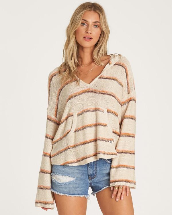 0 Baja Beach Sweater Beige JV18WBBA Billabong