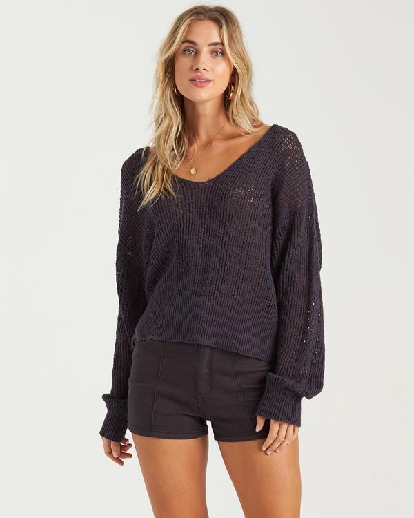 0 Feel The Breeze Sweater Blue JV193BFE Billabong