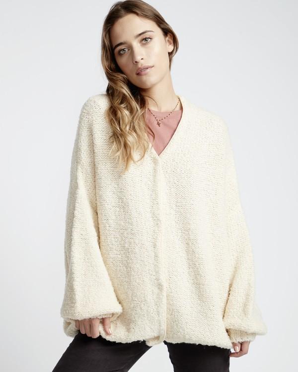 0 Sweet Love Sweater White JV30VBSW Billabong