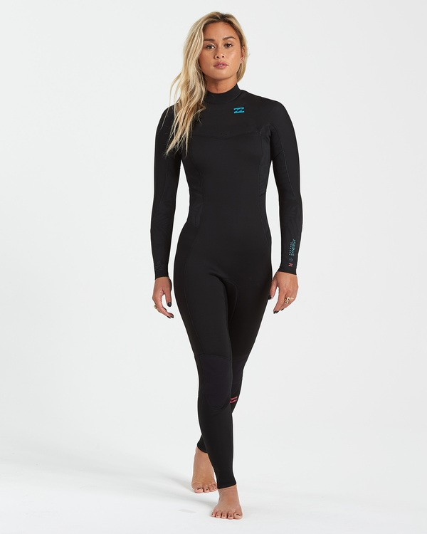 0 4/3 Synergy Back Zip Wetsuit Black JWFU3BB4 Billabong