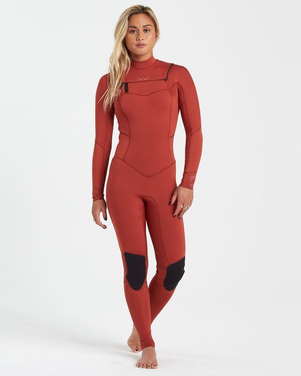 0 3/2 Salty Dayz Fullsuit Red JWFU3BS3 Billabong
