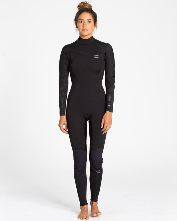 0 3/2 Synergy Back Zip Fullsuit  JWFUTBL3 Billabong