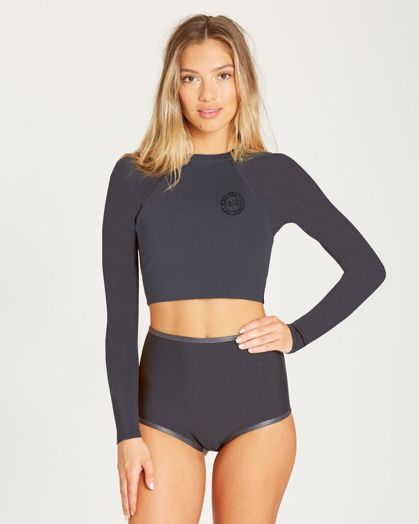 0 Sea Crop Cropped Wetsuit Jacket  JWSHTBLT Billabong