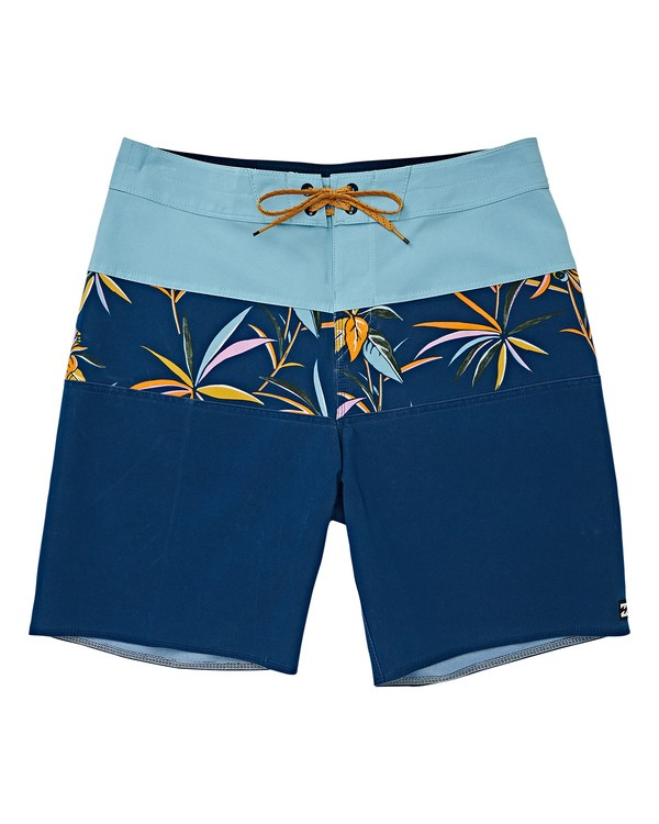 0 Boys' (2-7) Tribong Pro Boardshorts Blue K120VBTB Billabong