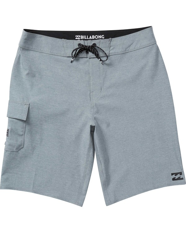 0 Boys' (2-7) All Day X Boardshorts Grey K124NBAL Billabong