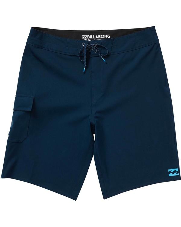 0 Boys' (2-7) All Day X Boardshorts Blue K124NBAL Billabong