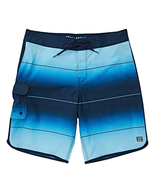 0 Boys' (2-7) 73 Stripe Pro Boardshorts Brown K127VBST Billabong