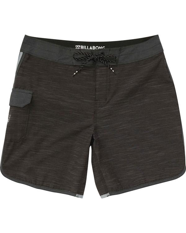 0 Boys' (2-7) 73 X Boardshorts Black K128NBST Billabong