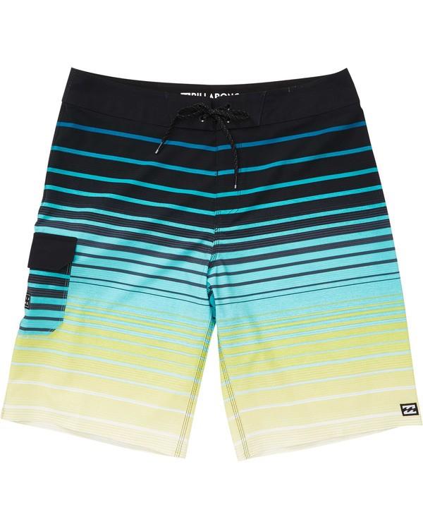 0 Boys' (2-7) All Day Stripe Pro Boardshorts Black K133TBAS Billabong