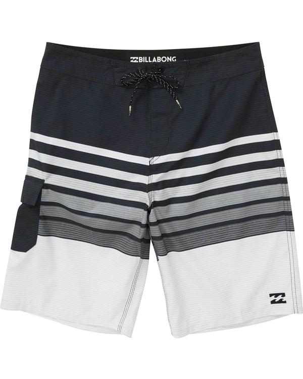 0 Boys' (2-7) All Day OG Stripe Boardshorts  K165NBAS Billabong