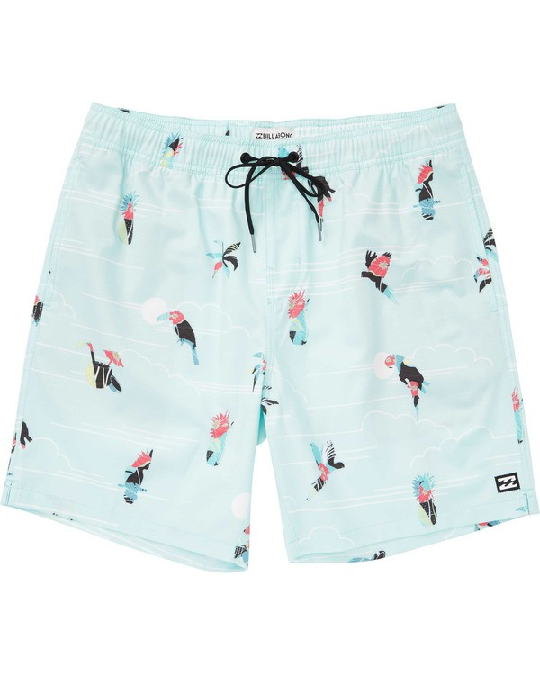 0 Boys' (2-7) Sundays Layback Boardshorts Blue K180TBSU Billabong