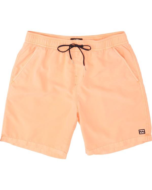 0 Boys' (2-7) All Day Overdye Layback Boardshorts Multicolor K1821BAB Billabong