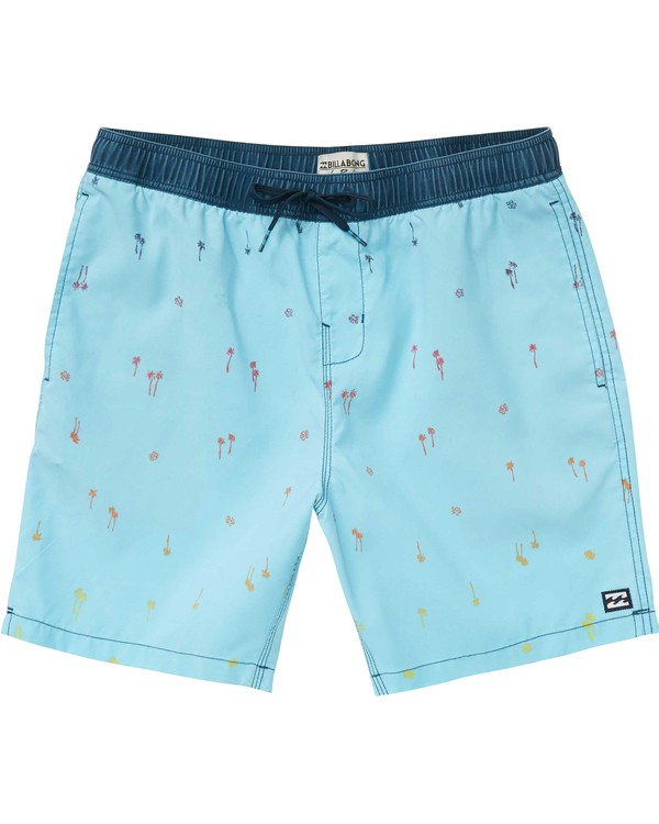 0 Boys' (2-7) Sundays Layback Boardshorts  K182PBSU Billabong