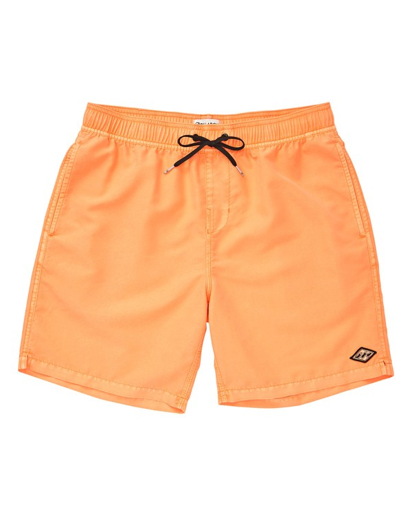 0 Boys' (2-7) All Day Layback Boardshorts Multicolor K182TBAD Billabong