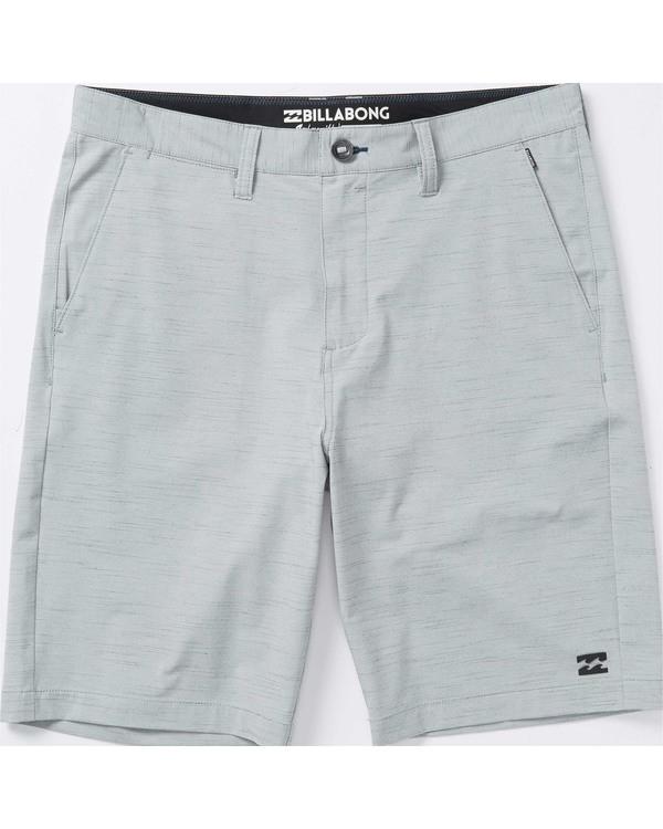 0 Boys' (2-7) Crossfire X Slub Shorts Grey K202TBCS Billabong