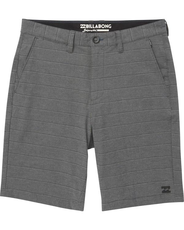0 Boys' (2-7) Crossfire X Stripe Shorts  K205NBCS Billabong