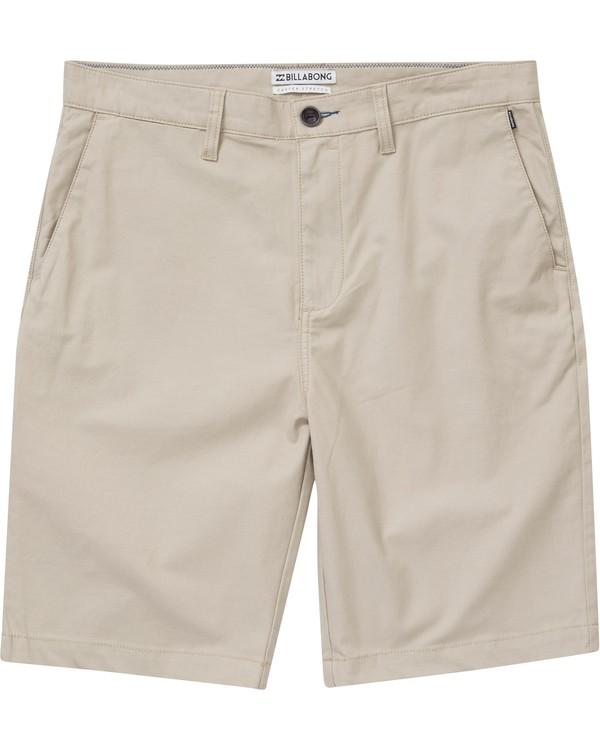 0 Boys' (2-7) Carter Stretch Shorts Beige K231NBCS Billabong